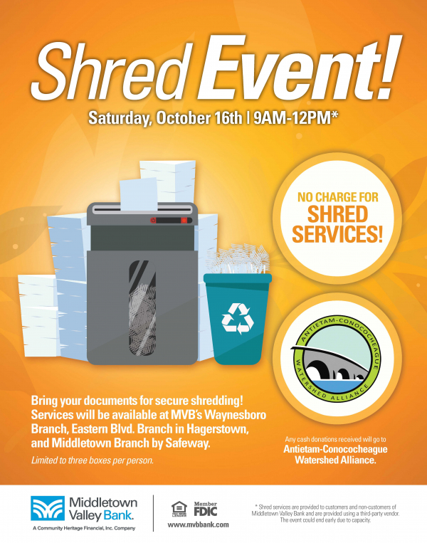 fall 2021 shred event